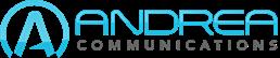 Andrea com logo