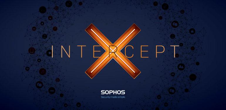 Sophos Intercept X Banner