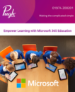 Newsletter Preview of Microsoft 365 for education