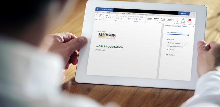 password protect microsoft word document on ipad