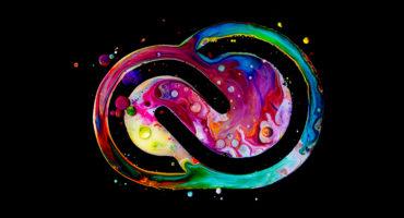 Modern colourful Water Effect Creative cloud logo