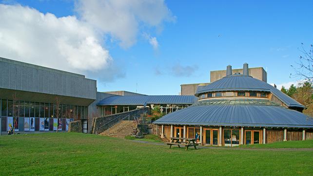 Summer picture Aberystwyth Arts Center